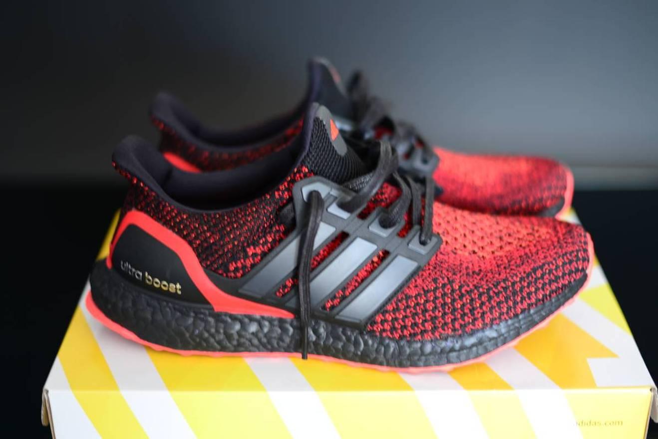 3d7249435ce3 ... order adidas adidas ultra boost solar red darth maul custom size us  10.5 eu 805a2 d136f ...