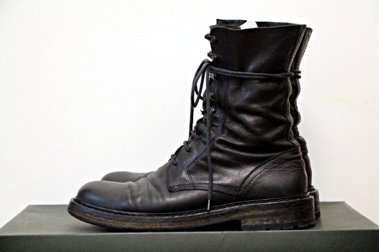 Comme des Gar?ons Military boots