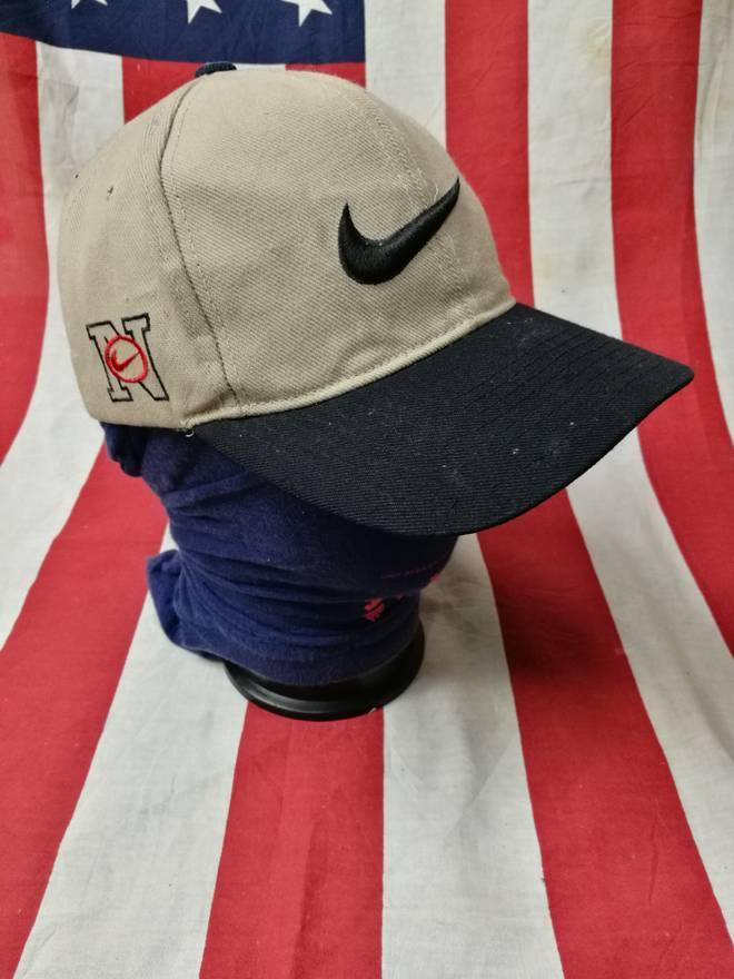 443684d9d53 ... netherlands nike rare vintage nike swoosh big logo baseball tennis cap  hat dad hat size one