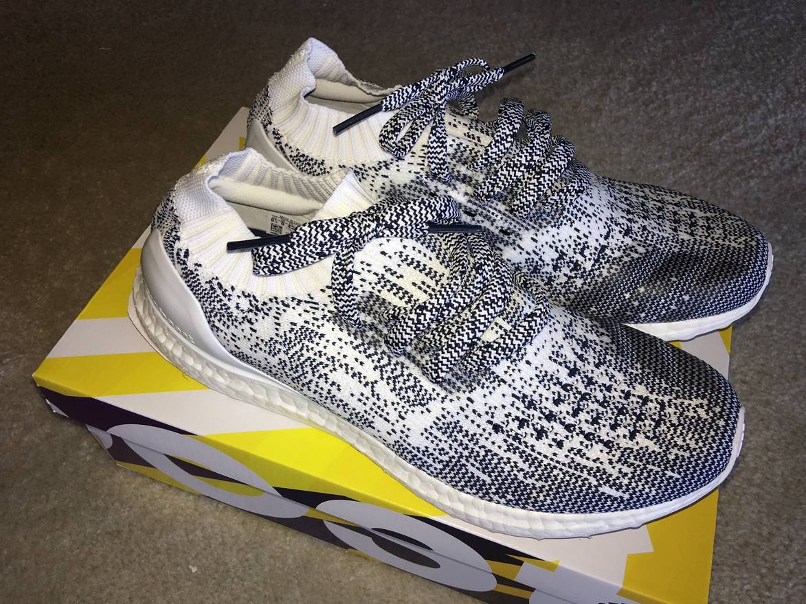 ab8f11826 ... promo code for adidas adidas ultra boost uncaged oreo mens 8.5 non dyed  white navy ba9616 ...