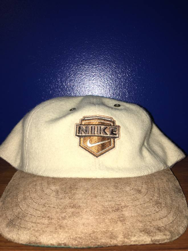 5496cf32 ... promo code for nike nike vintage cream wool suede cap size one size  533b1 b0480