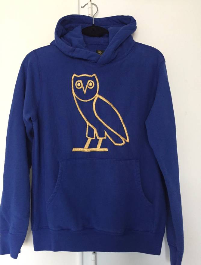 Octobers Very Own Last Drop Drake Ovo Blue Owl Gol Embroidered