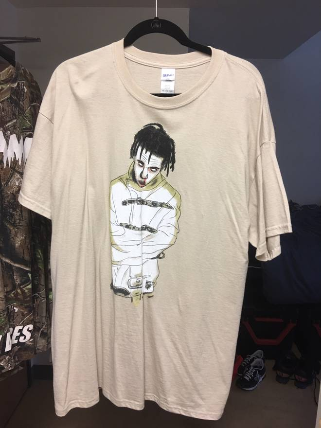897d7f3b102e Travis Scott Halloween Merch Tee Size Xl Short Sleeve T Shirts For. Travis  Scott Cactus Jack Texas Chainsaw Massacre ...