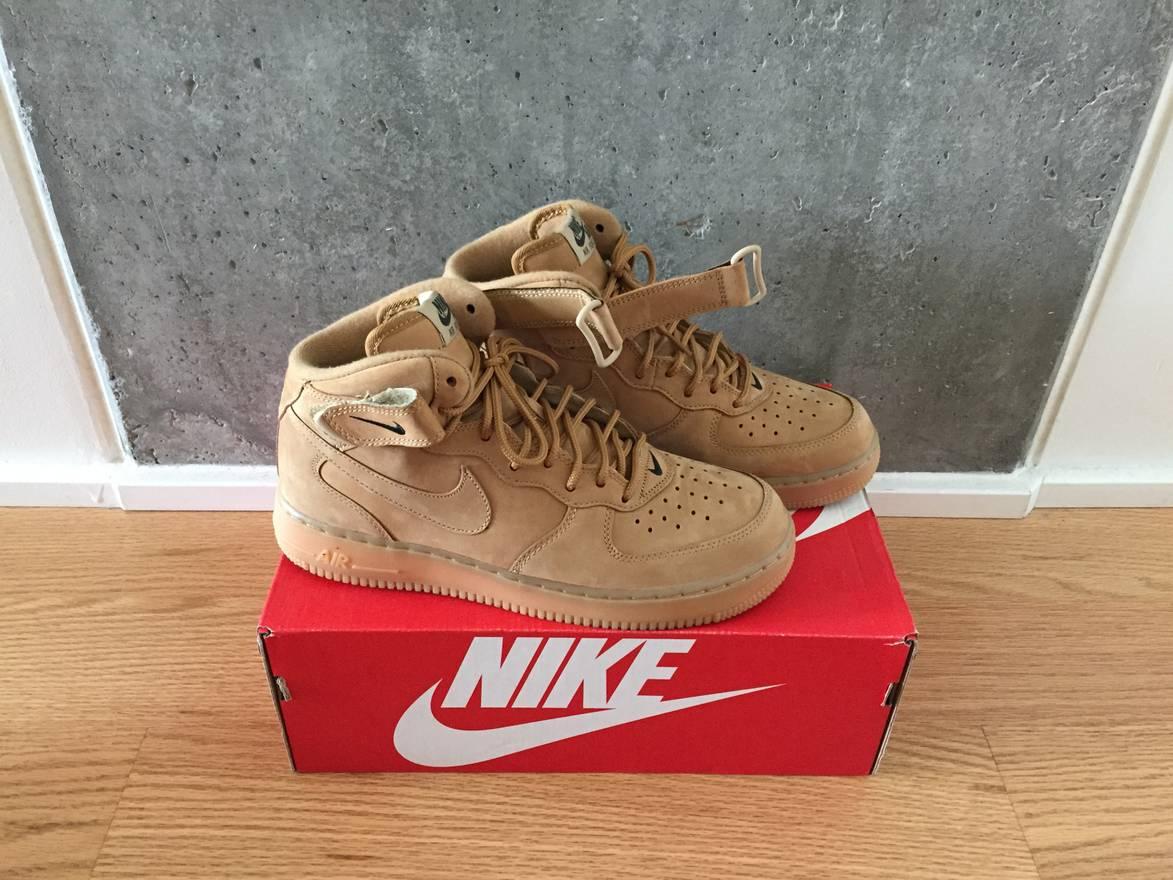 promo code bf376 0e818 ... sale nike air force 1 mid wheat flax size us 8.5 eu 41 42 b7d86 75b04