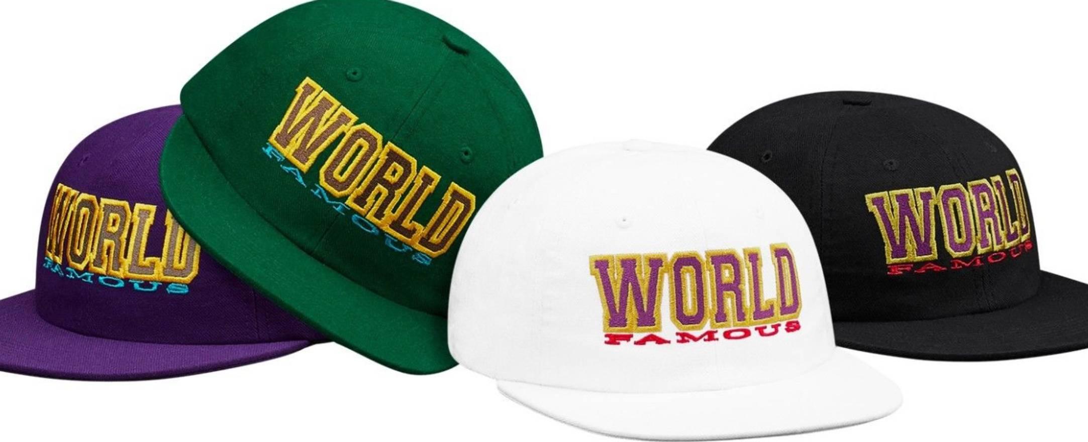 ea6b65a72ff ... sweden supreme new supreme world famous 6 panel white snapback hat size  one size a4f91 93c9f
