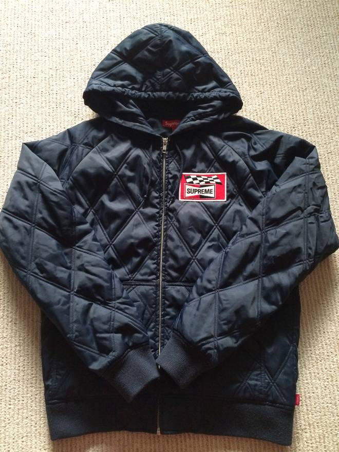 Supreme quilted racing jacket Size m - Light Jackets for Sale ... : quilted racing jacket - Adamdwight.com