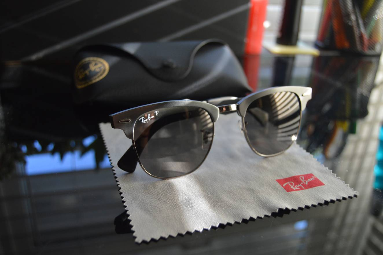 ff7ab5c25c ... coupon code for rayban final drop ray ban clubmaster polarized titanium  graphite grey retail 240 size