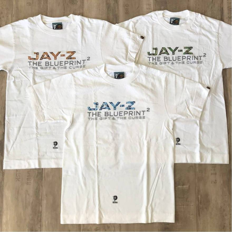 Bape bape x rocafella records jay z the blueprint 2 album release bape bape x rocafella records jay z the blueprint 2 album release rare tee size malvernweather Choice Image