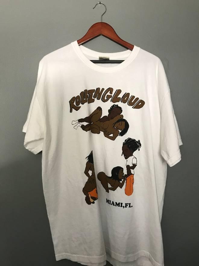 Vlone Asap rocky Rolling Loud T Shirt Size xl - Short Sleeve T ...
