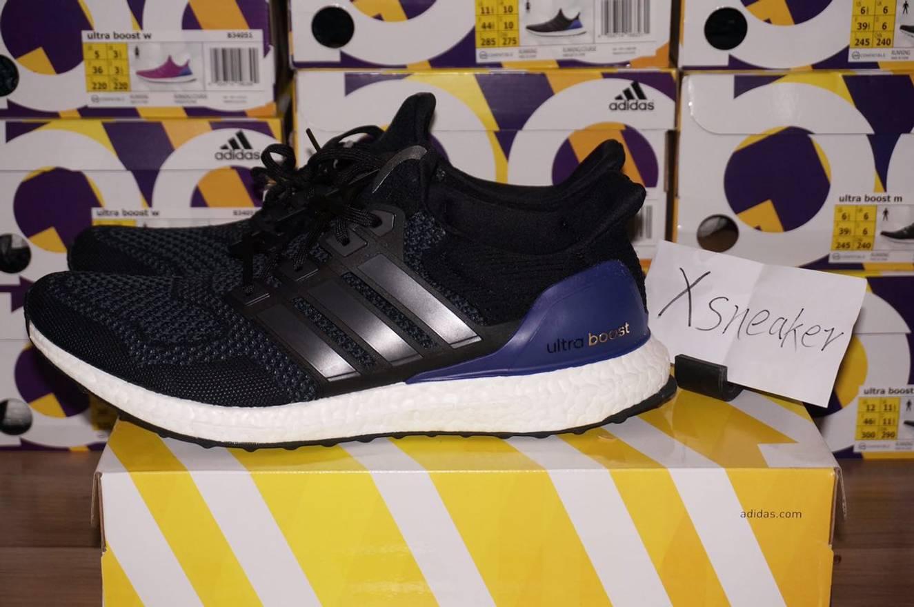f19b14d8e ... Adidas Adidas ultra boost 1.0 og ub black purple men and women b27171  b27172 Size US ...