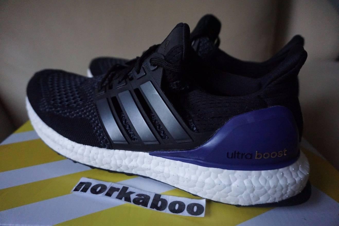 00d8d7c8073 ... shop adidas adidas ultra boost 1.0 og core black purple b27171 size us  8 eu 41