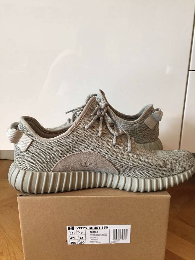 1582685d1 ... low price adidas kanye west yeezy boost 350 moonrock size us 12.5 eu 45  46 28e2a