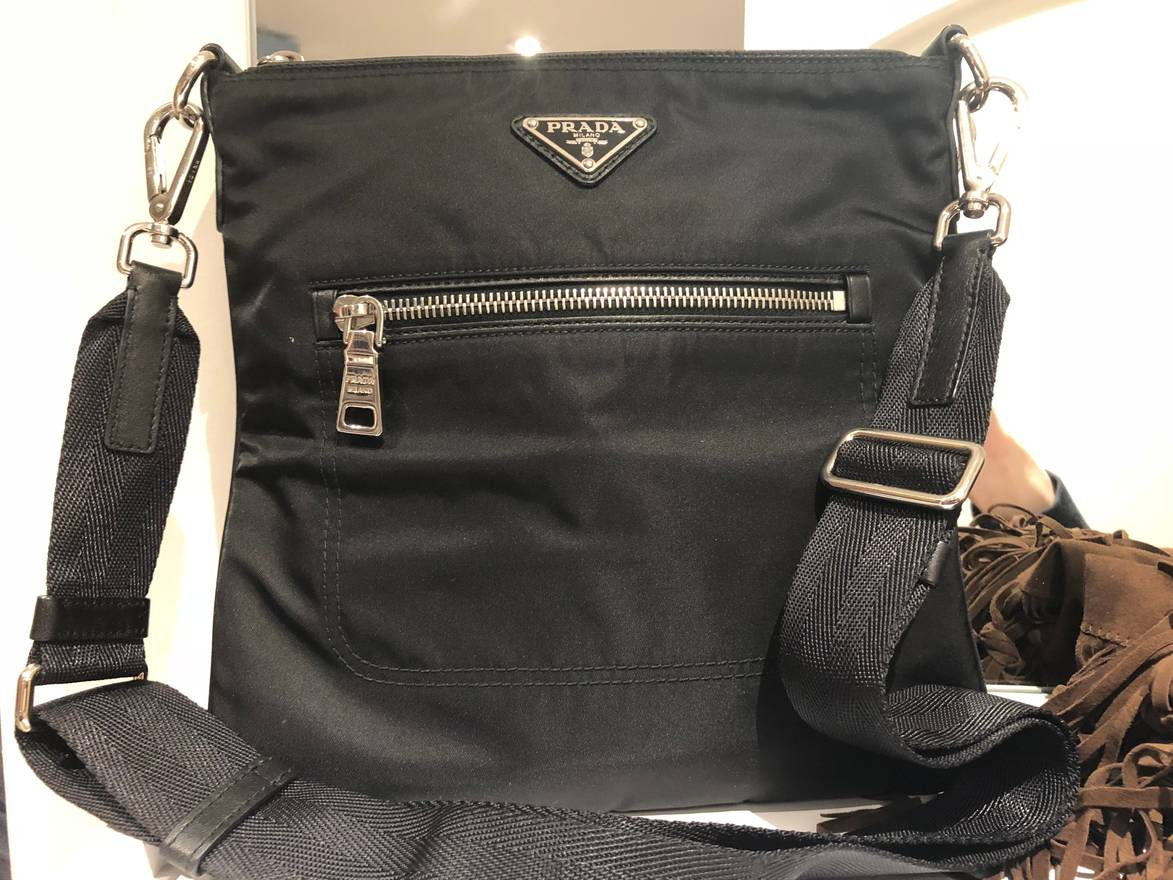 43f8f0ba5f discount code for prada nylon messenger shoulder bag side bag size one size  6f6cb beab3