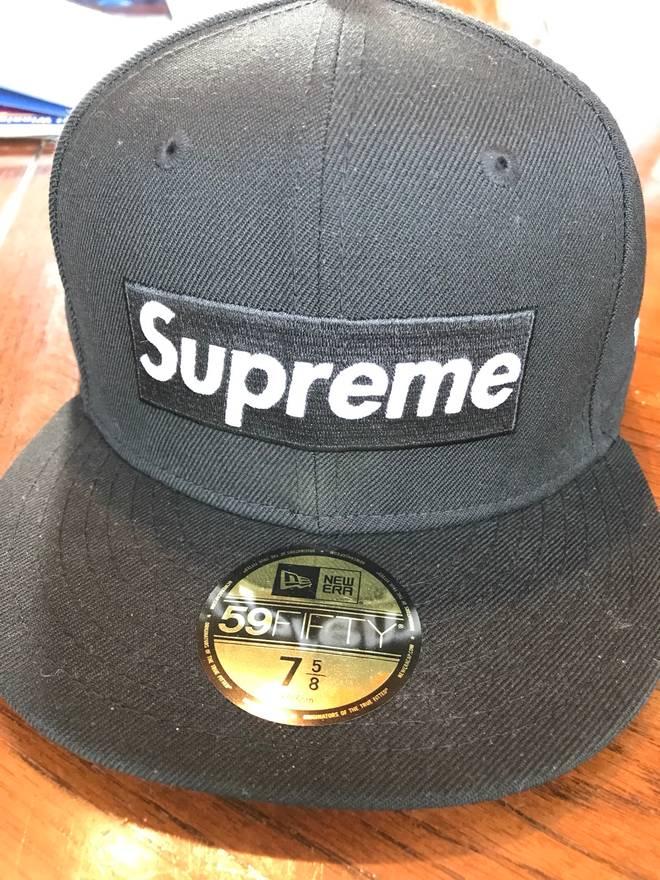 3ca317c5388 ... store supreme supreme playboy box logo new era hat size one size e1f14  2a4b5