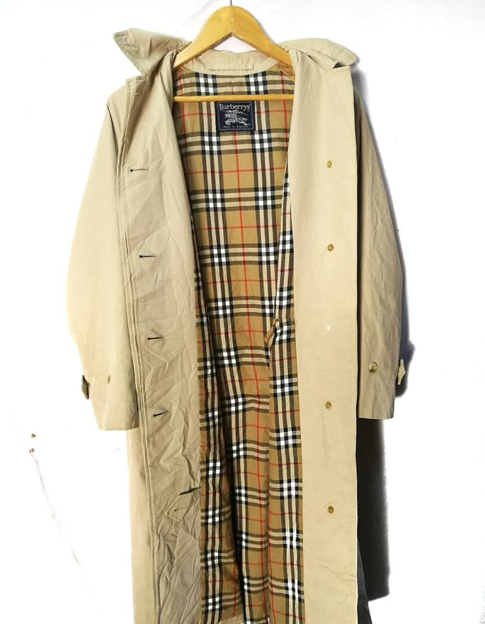 Burberry Vintage authentic the brighton nova check the long car coat ...