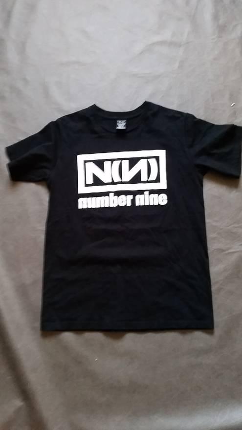 Number (N)ine Nine Inch Nails branded t-shirt Size l - Short ...