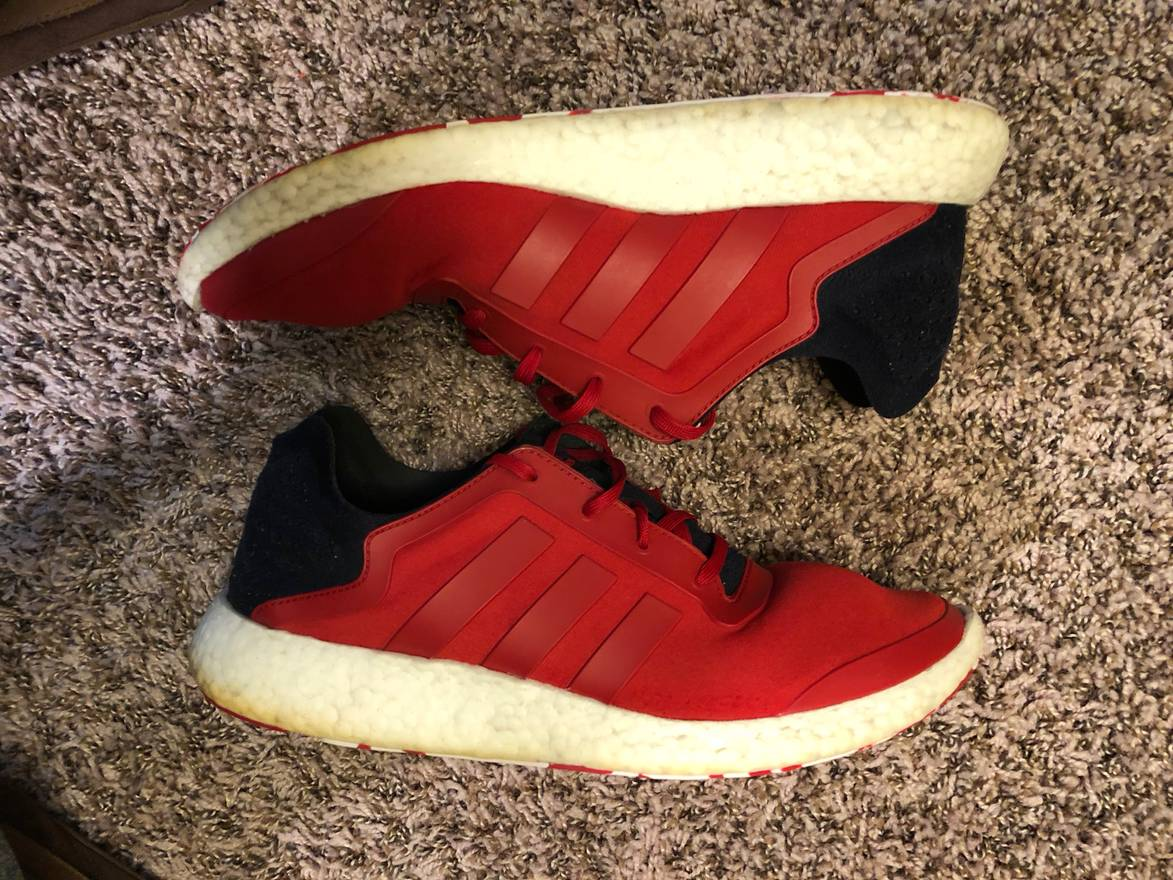 51435cbed ... sweden adidas adidas pure boost red og size 12 size us 12 eu 45 31c27  6f872