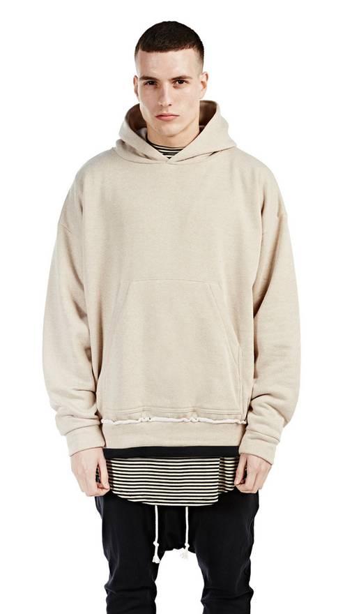 Represent Clo. BEIGE GYM PULLOVER HOODIE Size m - Sweatshirts ...