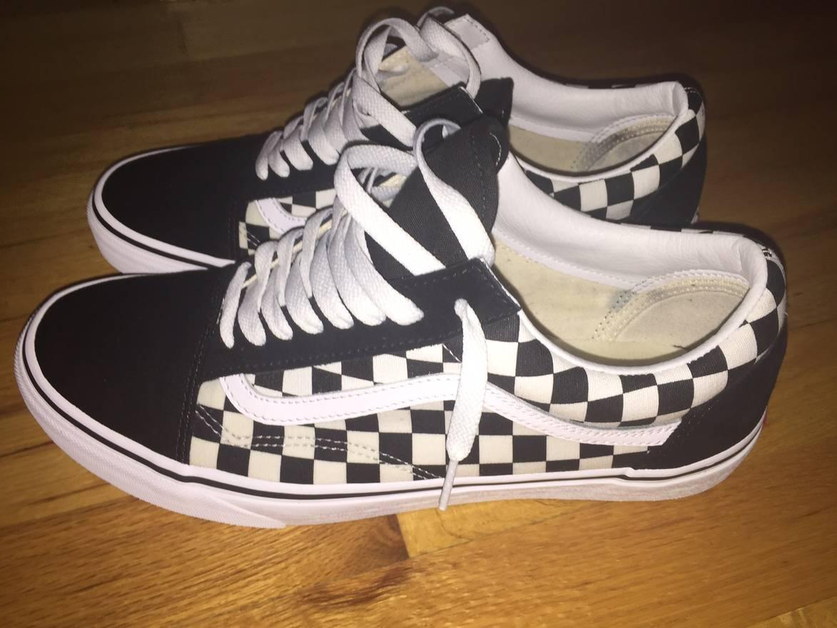 Vans Custom Checkerboard Old Skool Vans Size 11 - Low-Top Sneakers ...