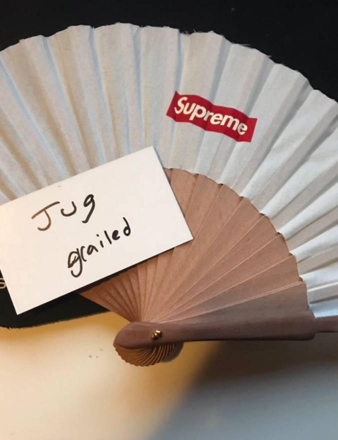 Supreme Supreme Sasquatchfabrix Folding Fan Size One Size Supreme