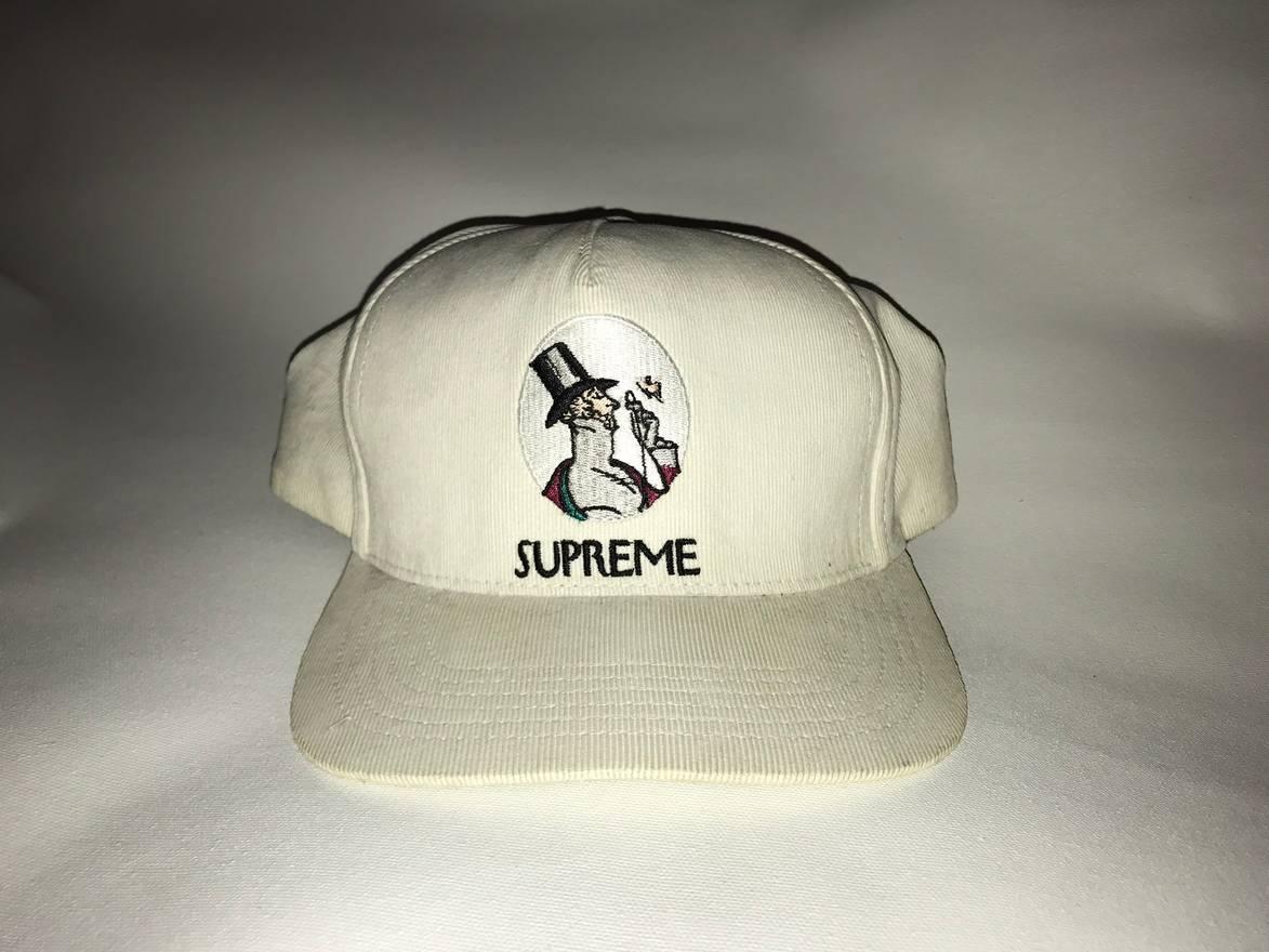 feabc2fdf44 ... hat flannel box logo rare wholesale supreme supreme uptown new yorker  corduroy snapback white fw11 size one size d9c5b 26feb ...