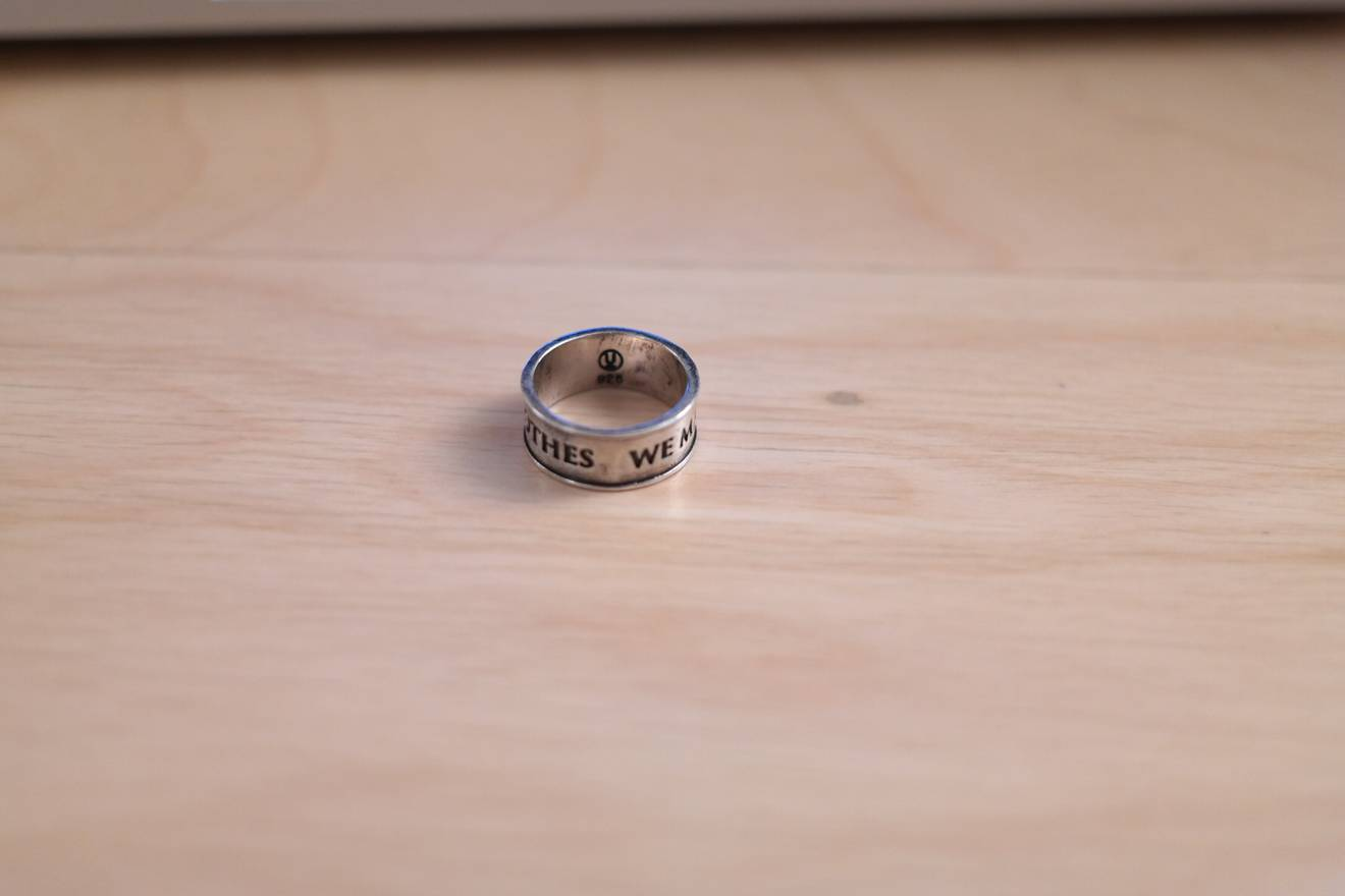 Undercover We Make Noise Not Clothes Ring Size one size - Jewelry ...