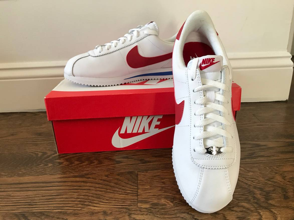 sports shoes 66cf3 bf695 ... best price good nike nike cortez basic leather og forrest gump sneaker  size us 9 eu