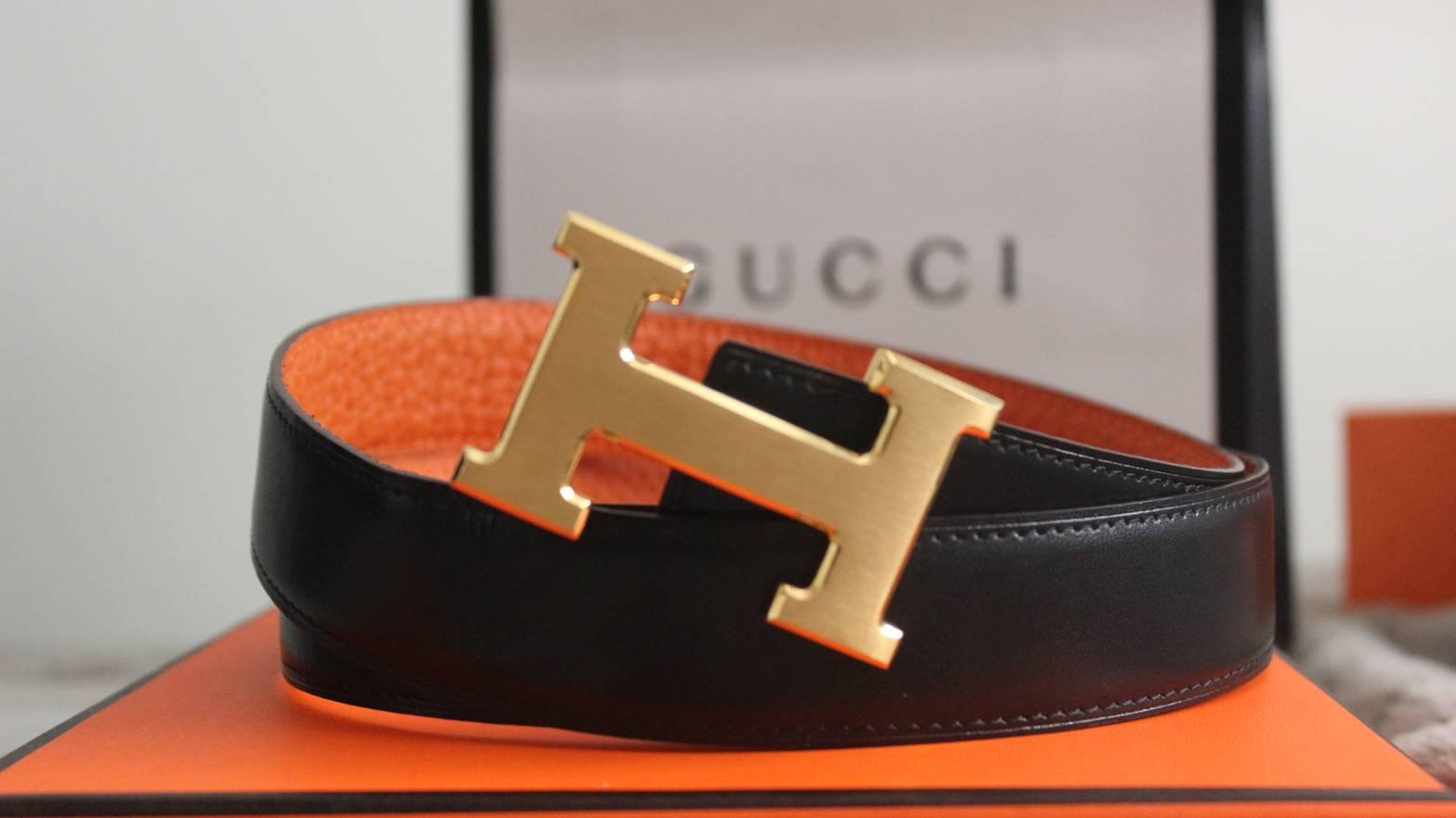 976a3a80129e buy labellov hermès reversible orange black constance h belt size 100cm buy  and sell authentic luxury f6483 e0548  amazon hermes constance hermes belt  size ...