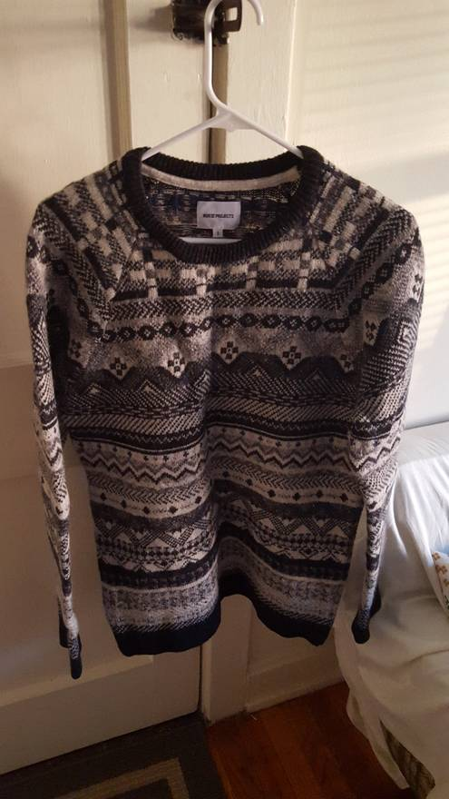 Norse Projects Birnir Fair Isle Sweater Size s - Sweaters ...