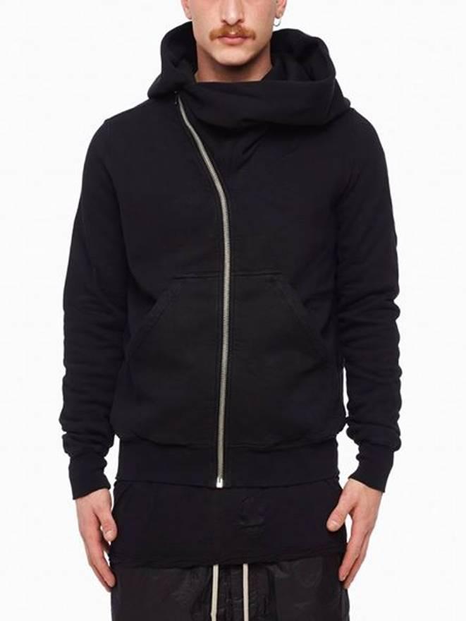 mountain hoodie - Black Rick Owens