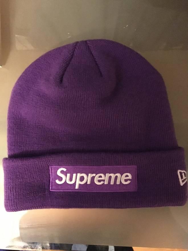18451e57372 ... australia supreme supreme x new era beanie purple size one size 8bc48  83cb3