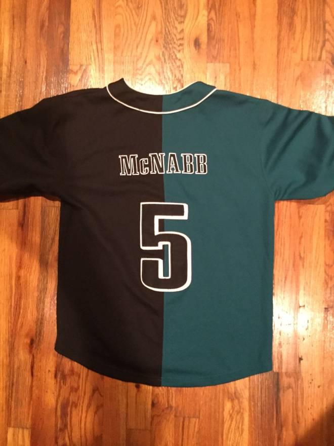 newest 5e96c a7323 philadelphia eagles baseball jersey