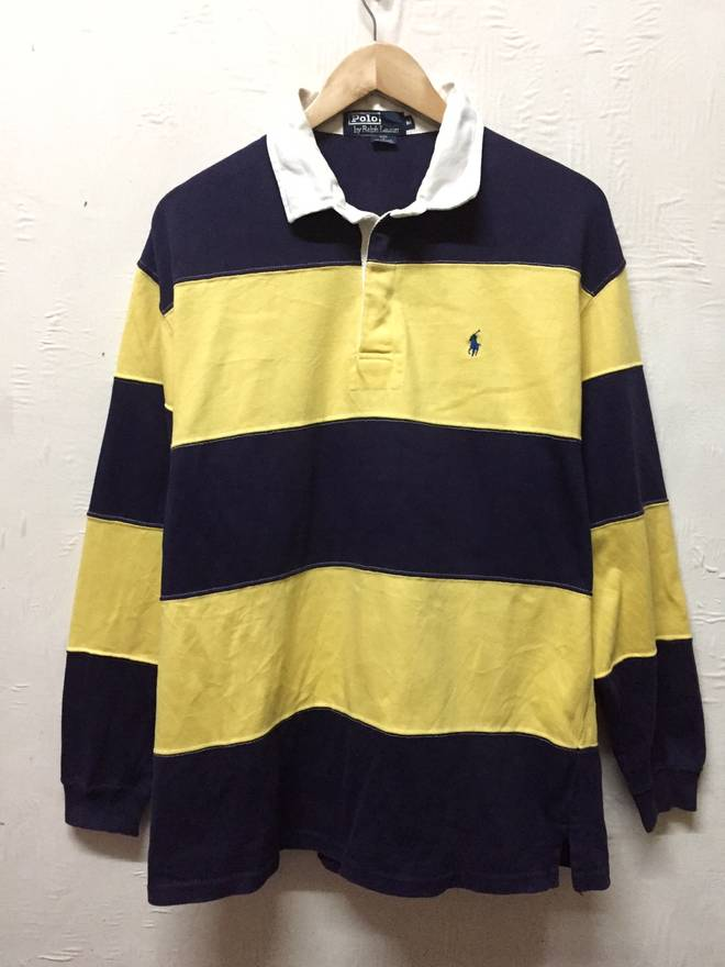 9c412fb99b ... where to buy polo ralph lauren long sleeve collar shirt stripes colours  size us m eu