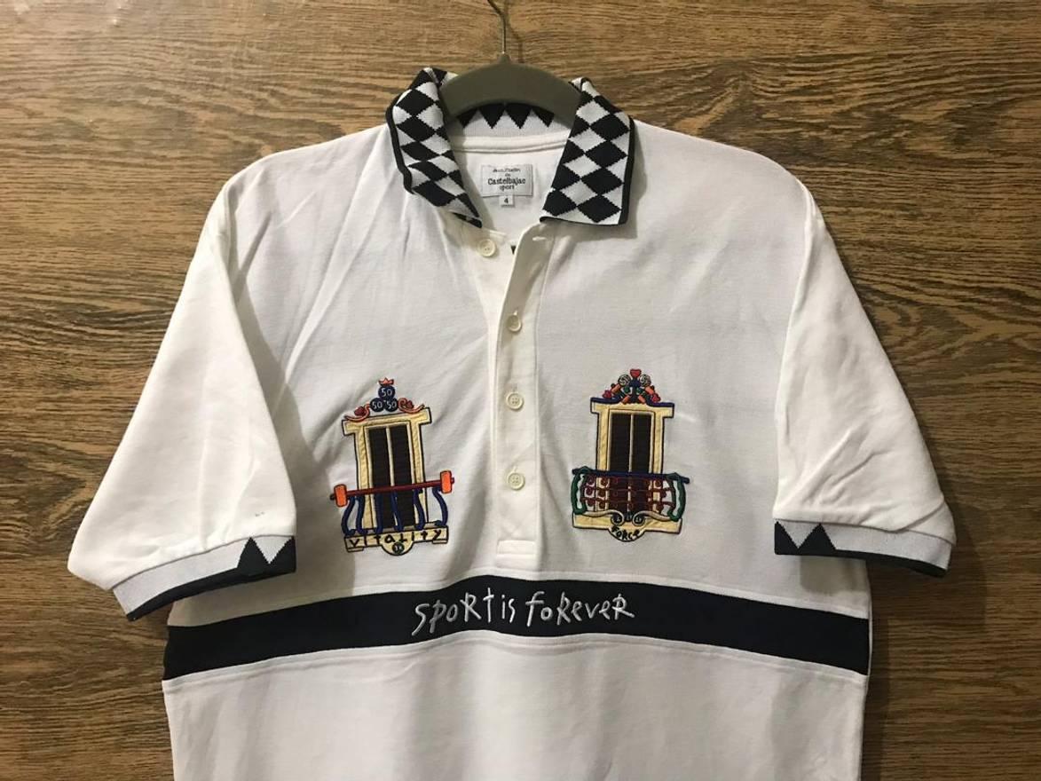 Jean Charles De Castelbajac Jc Castelbajac Polo Shirtbig Embroidery
