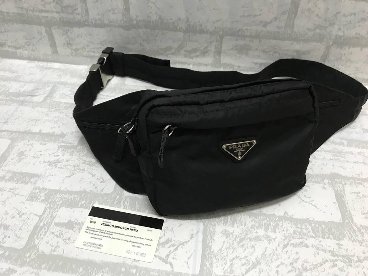 0c8bc18a5729 ... shopping prada prada nylon waist bag size one size 40457 55707