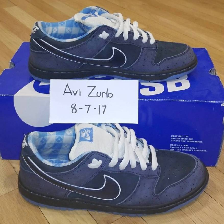 huge selection of 1c0e5 76e69 ... usa nike concepts x nike dunk sb low blue lobs size us 10.5 7862b abe44