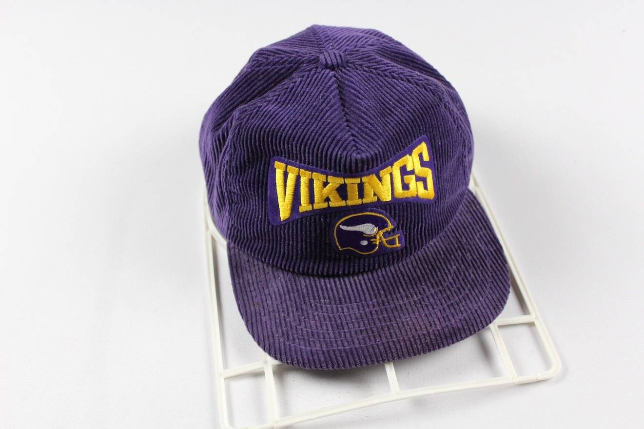 ... where to buy vintage vintage 90s new era pro model minnesota vikings  football corduroy snapback hat 942dcb18e
