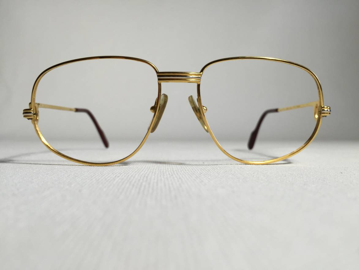 Cartier Cartier Frames 24k Gold Filled Size one size - Glasses for ...