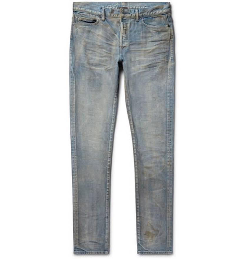 The Cast 2 Slim-fit Tapered Distressed Denim Jeans John Elliott + Co