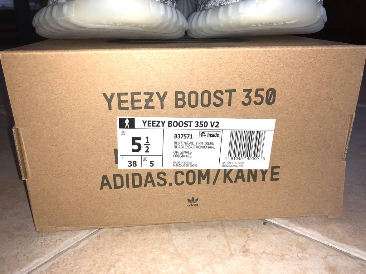 Yeezy Boost Boost Adidas Yeezy 350 Boost 350 V2 No Tamaño de tinte azul No es el tamaño 6 745a74e - temperaturamning.website