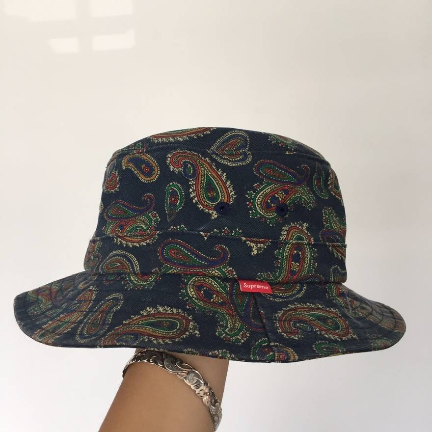 4257530eb2d ... low cost supreme supreme paisley bucket hat size one size 085d5 1d4f4