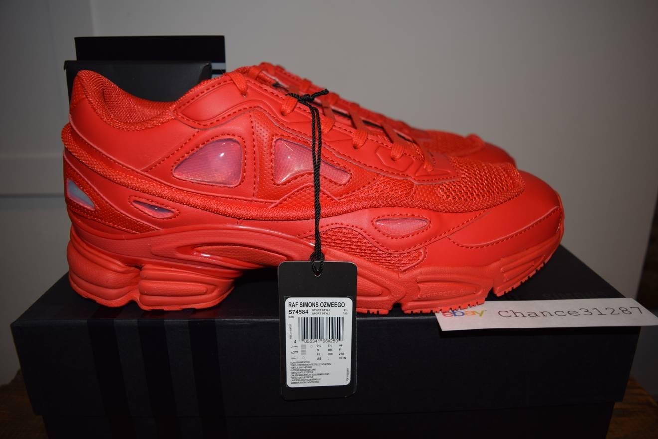 Raf Simons Adidas Ozweego 2 Red