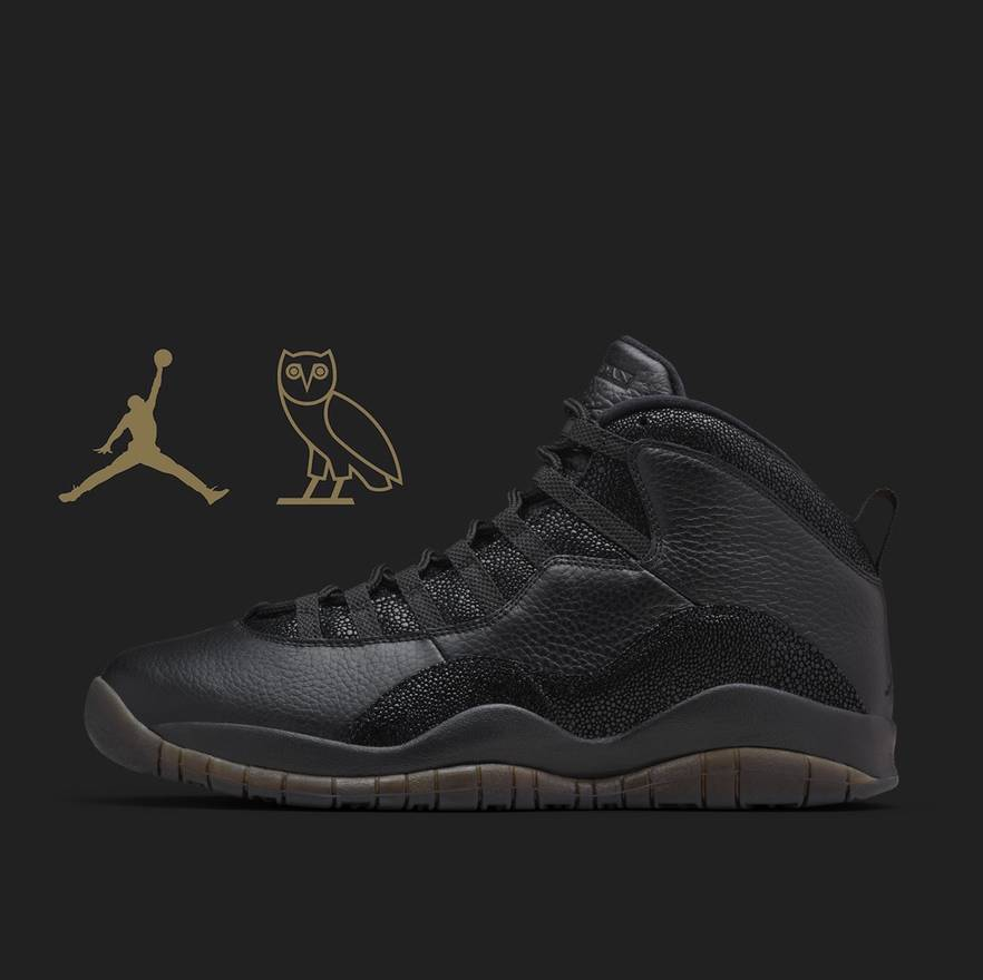 arrives fb8b6 60129 usa jordan brand air jordan 10 x ovo retro size us 11 eu 44 8628c 82ddc