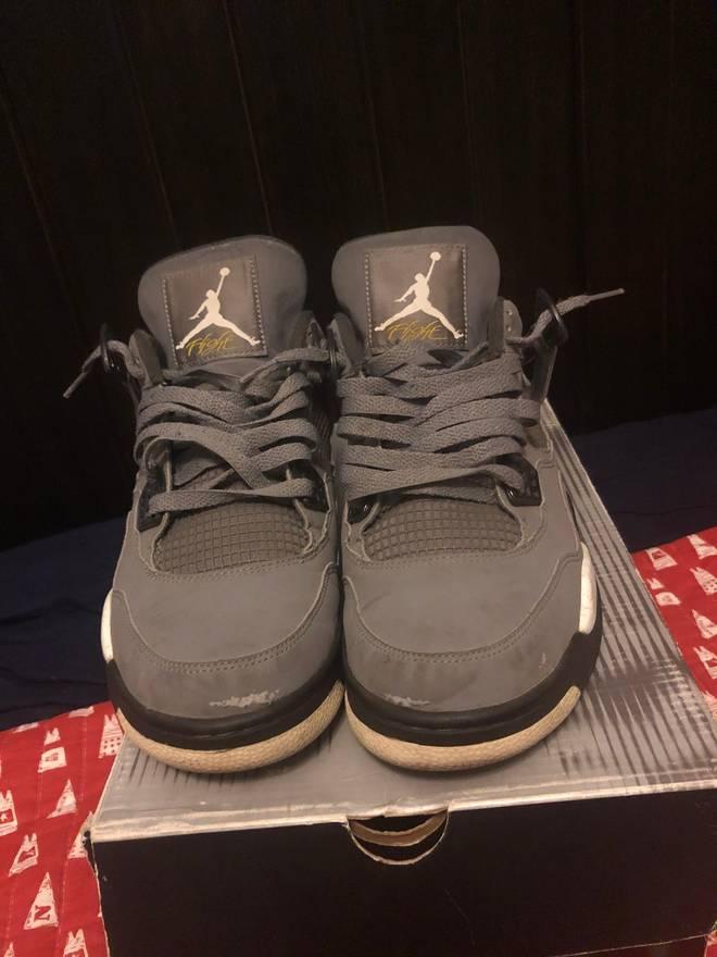 hot sale online 9cddd f826b ... Jordan Brand Jordan 4 Cool Grey Ls Og Size US 9.5 EU 42-43 .