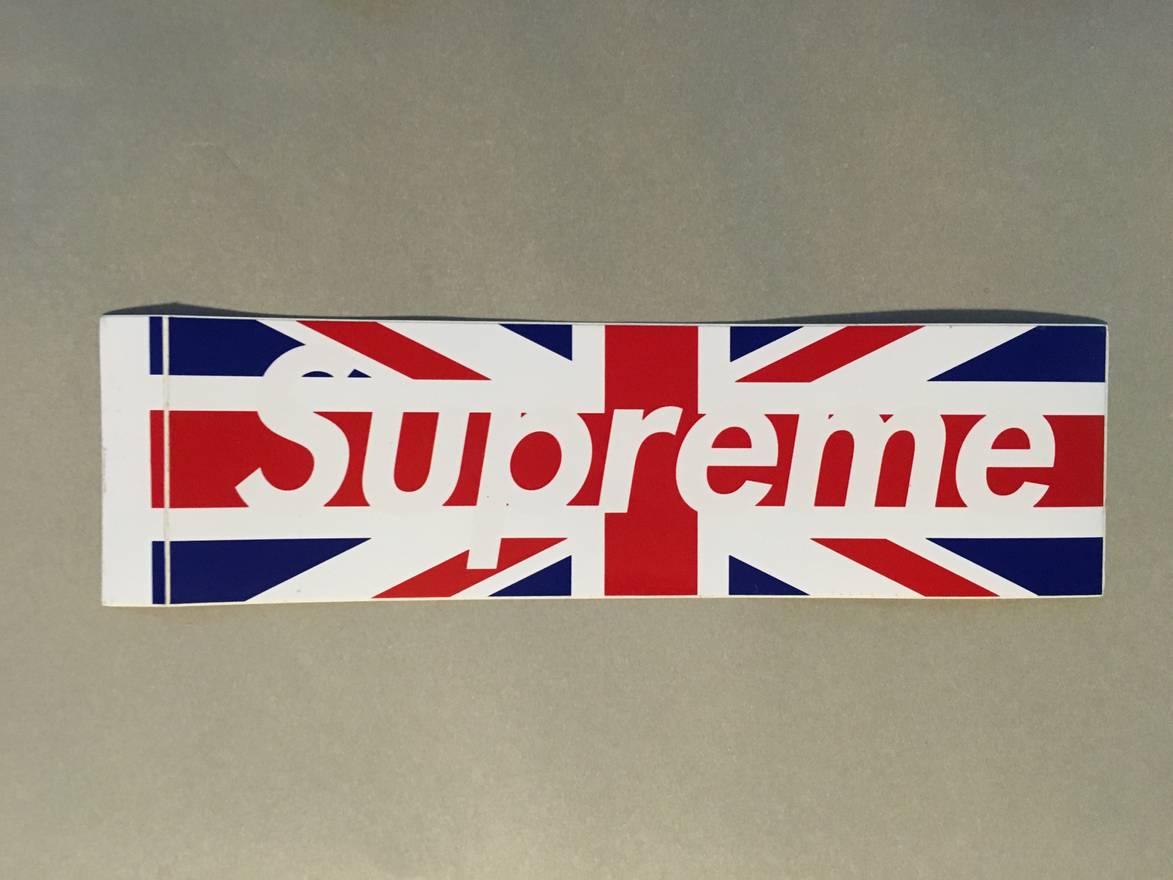 150mm Metal Rip Open British Union Jack Flag Sticker