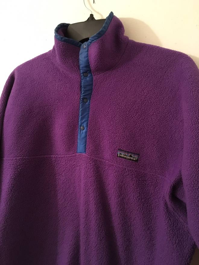 Patagonia Patagonia Vintage Purple Sweater Size m - Sweaters ...