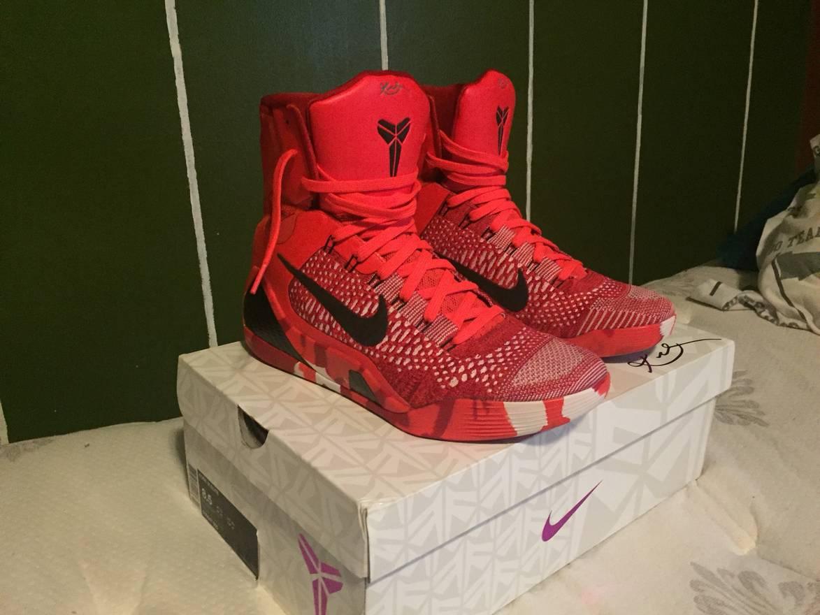 Nike Nike Kobe 9 Elite Christmas Size 8.5 - Hi-Top Sneakers for Sale ...