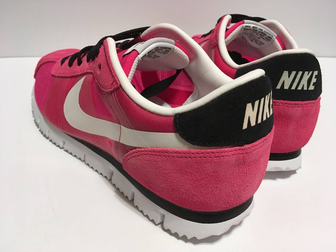 newest dcf36 f2e25 ... australia nike rare new nike cortez fly motion 2009 vivid pink neon  white black 298f4 daf98