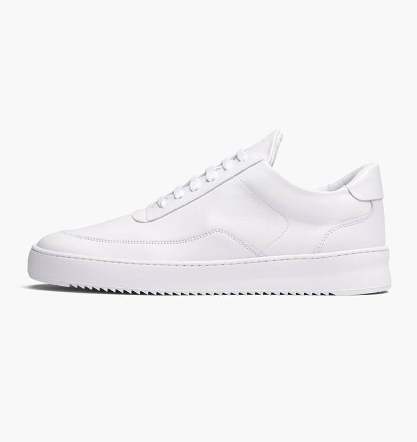 Filling pieces Low Mondo Leather Low-Top Sneakers