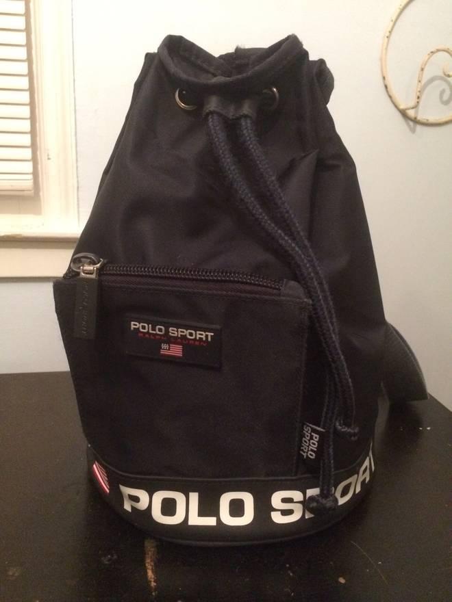 95bdcfb244 ... netherlands polo ralph lauren vintage polo sport bag size one size  b1e65 c0de8 ...